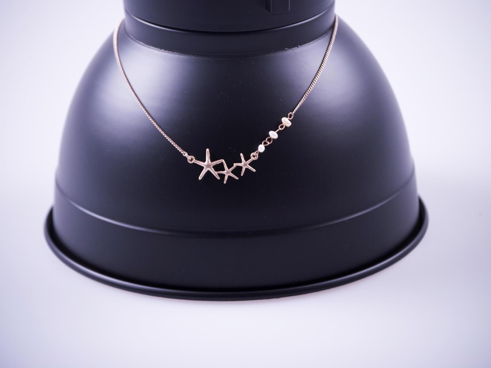 Halskette Seesterne