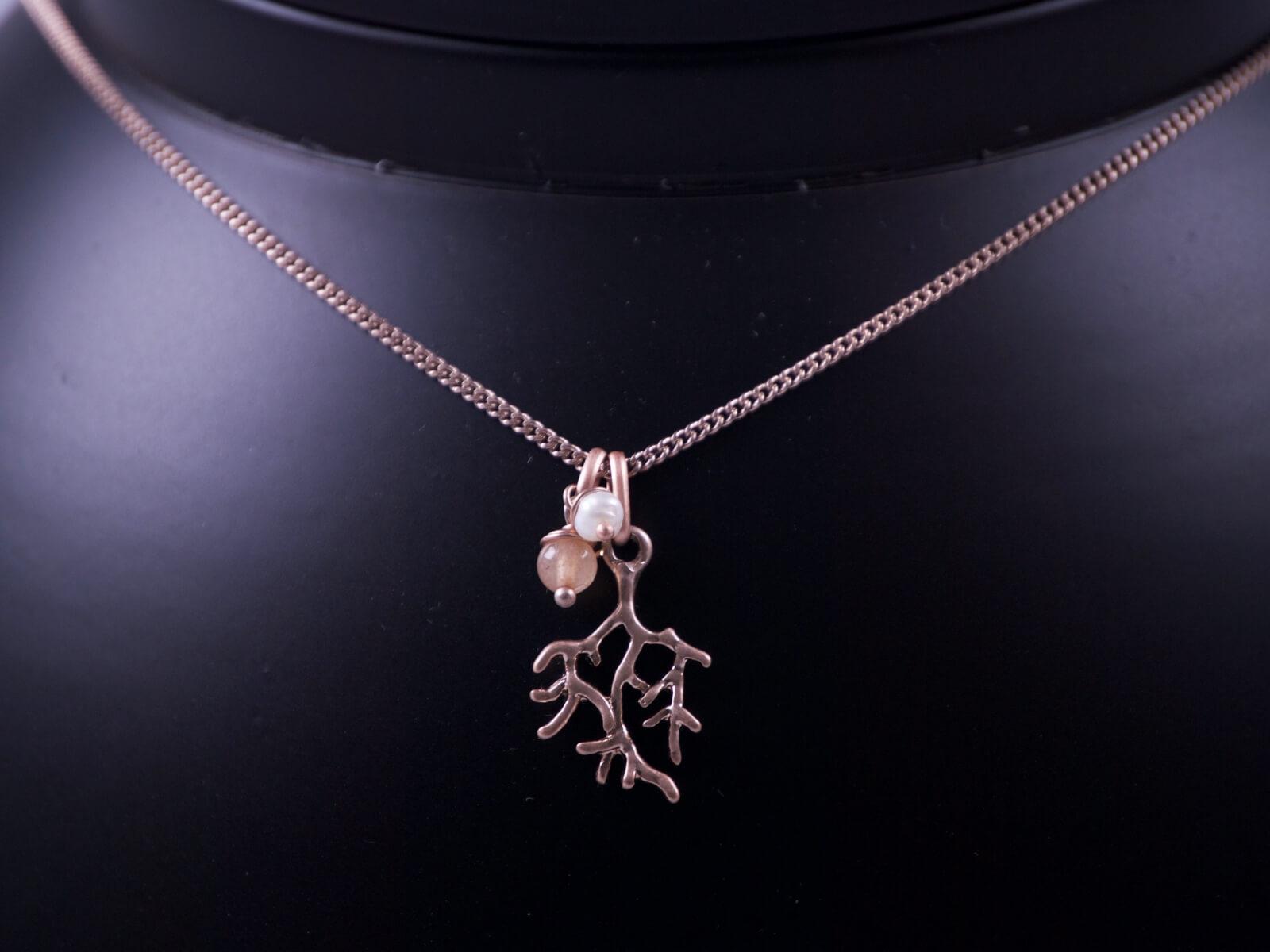 Halskette Kleine Koralle