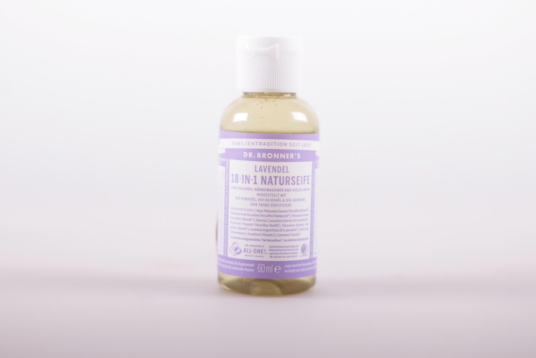 Dr. Bronner's 18-IN-1 Naturseife Lavendel 60ml