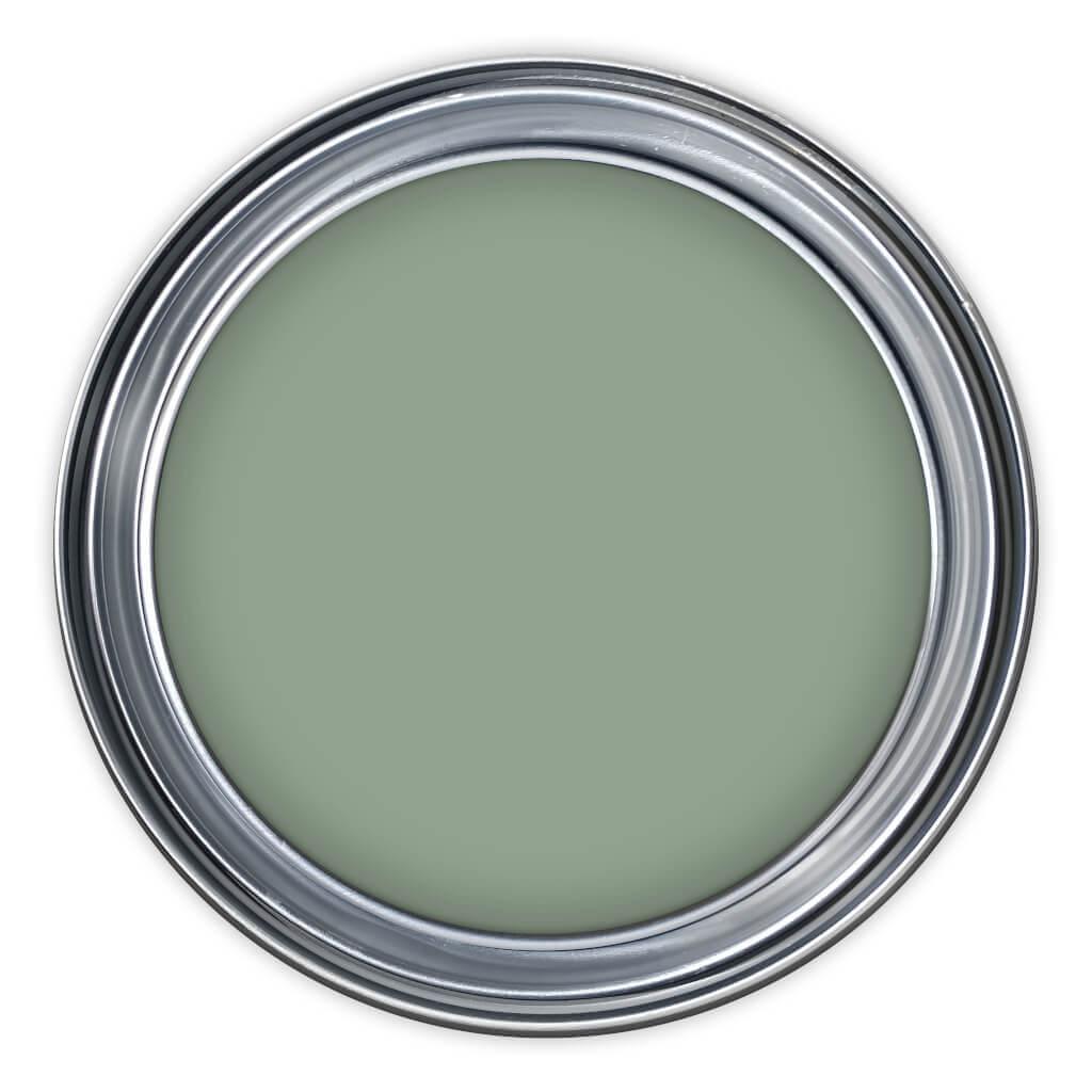 Farbtopf zur Kreidefarbe von Painting the Past Cottage Green NN53