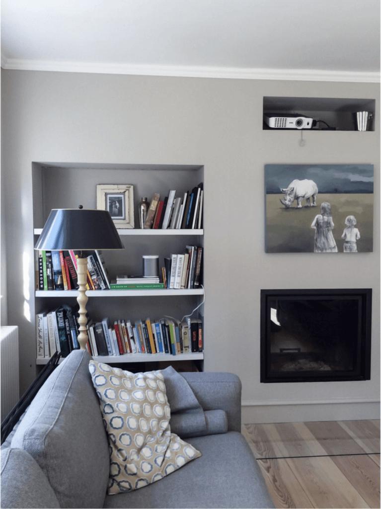 heute geht es um graue wandfarbe miss pompadour. Black Bedroom Furniture Sets. Home Design Ideas