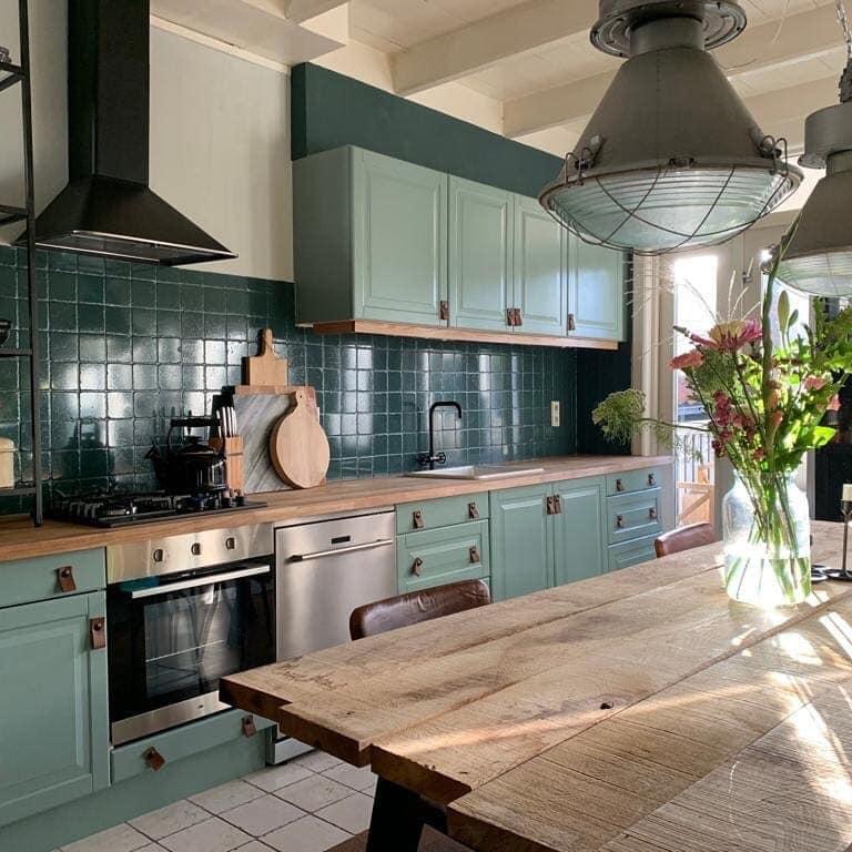 Kreidefarbe Küche und alles ist neu - MissPompadour
