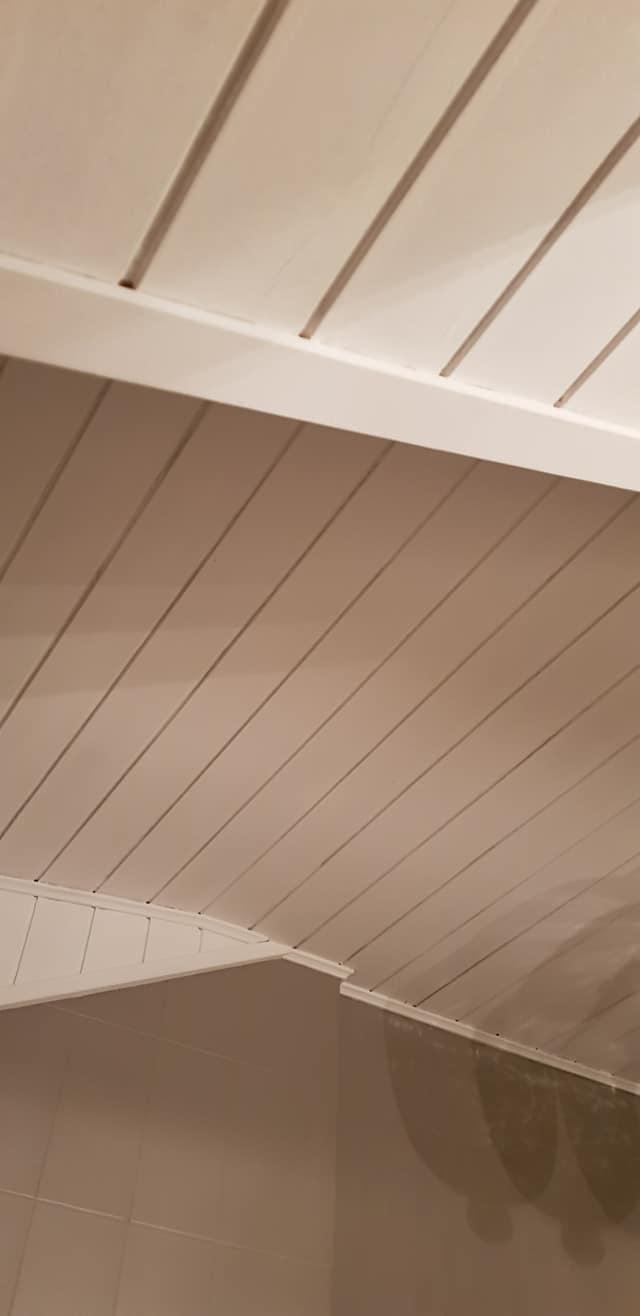 Durch Kreidewachs Neue Farbe Für Die Holzdecke