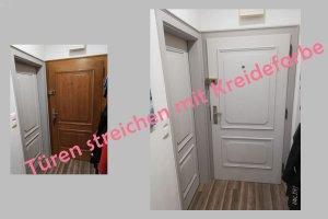 Türen streichen mit Kreidefarbe