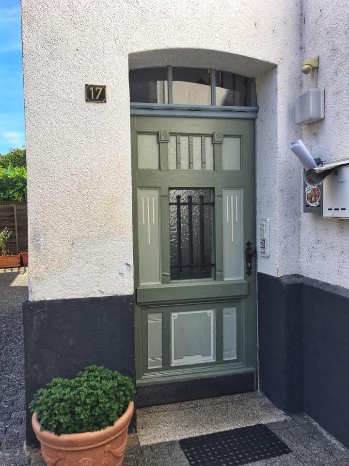 Extrem Türen streichen mit Kreidefarbe - MissPompadour GZ64