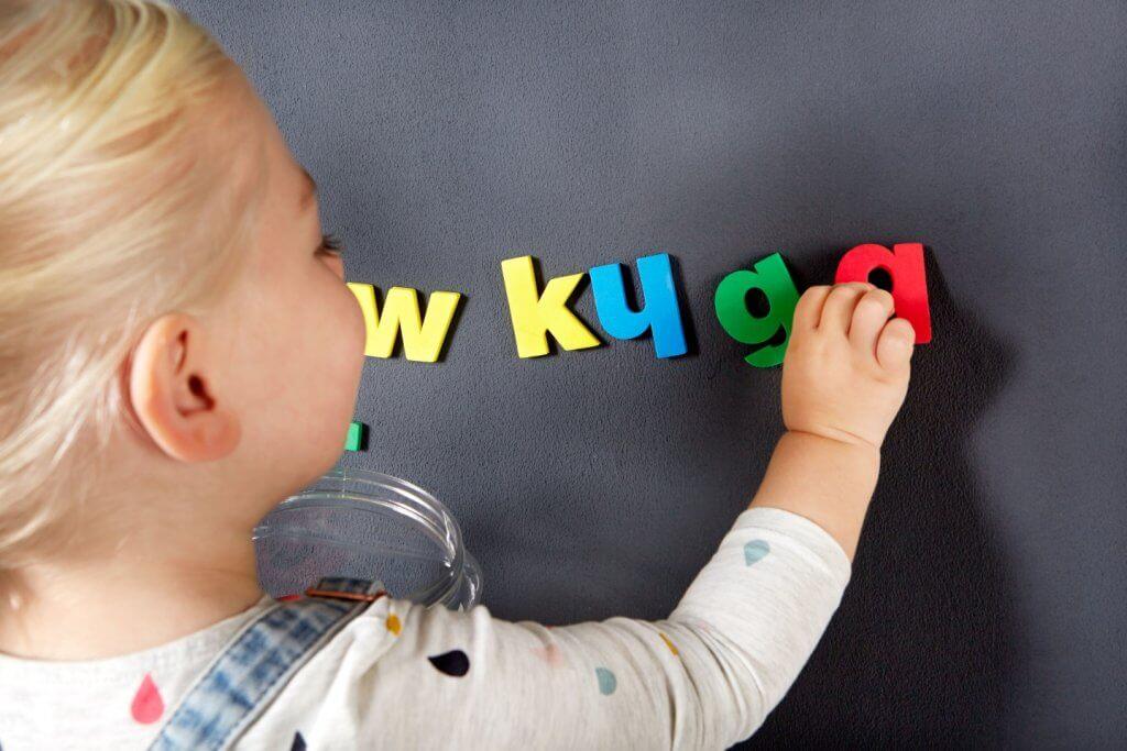 Kinderzimmer für Magnetfarbe