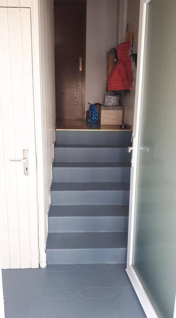 Top Treppen streichen mit Kreidefarbe - VF95