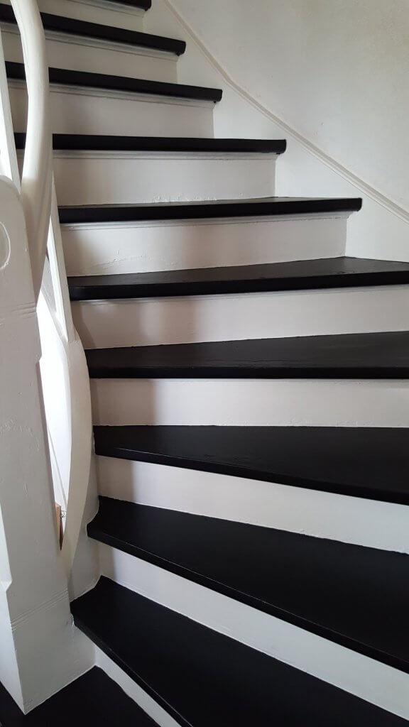 Top Treppen streichen mit Kreidefarbe - FJ83
