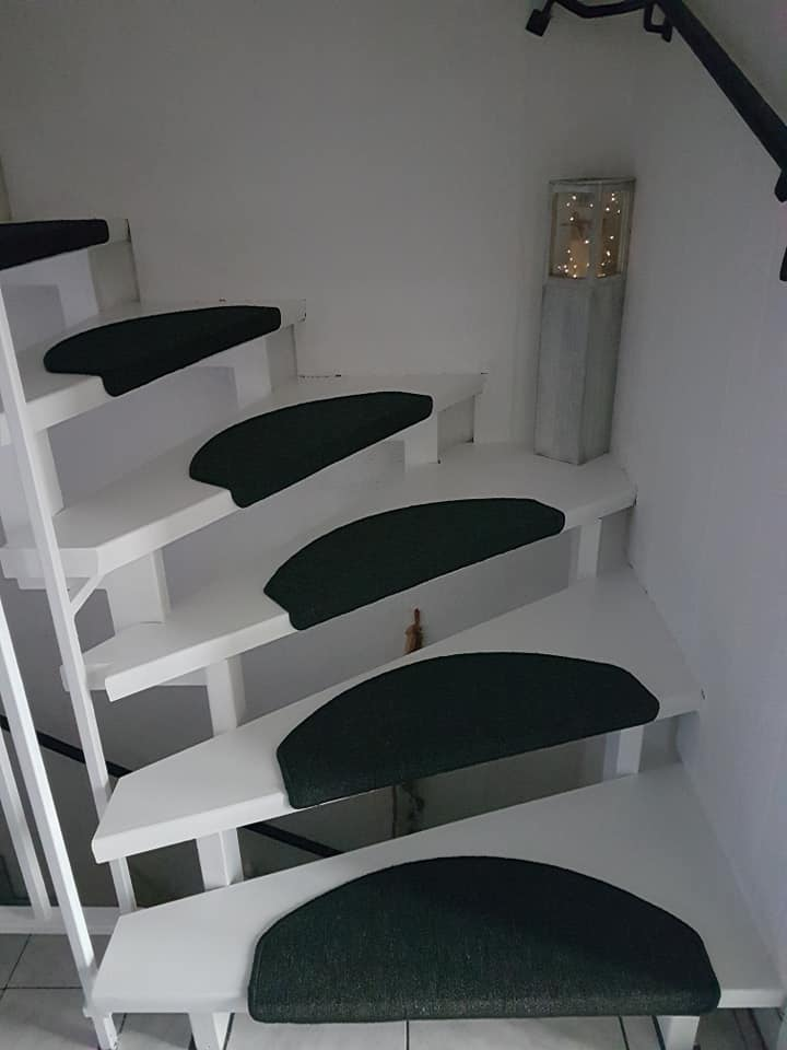 Fabulous Treppen streichen mit Kreidefarbe - DF86
