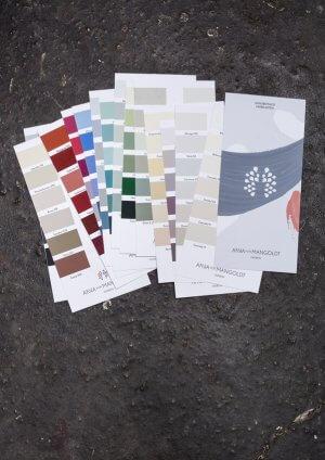 Anna-von-Manglodt-Farbkarten-Kreidefarbe