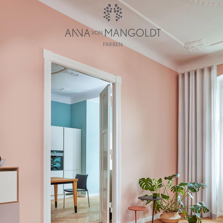 Anna Von Mangoldt Apricot Kreidefarbe Misspompadour