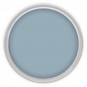 MissPompadour Blau mit Grau