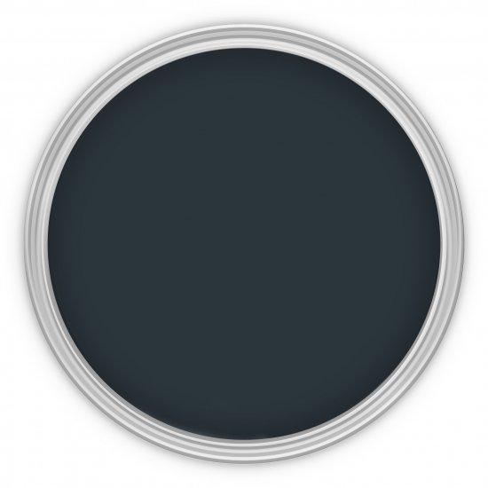 MissPompadour Blau mit Schwarz
