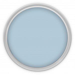 MissPompadour Blau mit Wolke