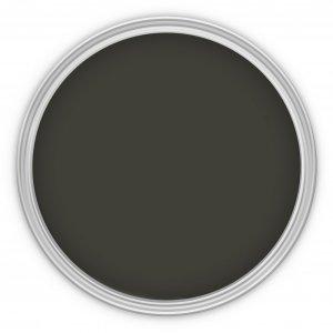 MissPompadour Braun mit Schwarz