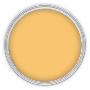 MissPompadour Gelb mit Sonne