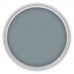 MissPompadour Grau mit Blau