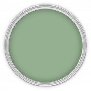 MissPompadour Grün mit Glas