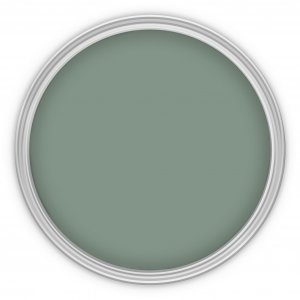 MissPompadour Grün mit Grau